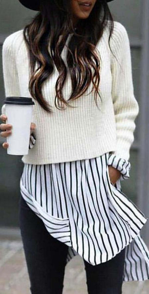Oversized Cozy up Knit Sweater