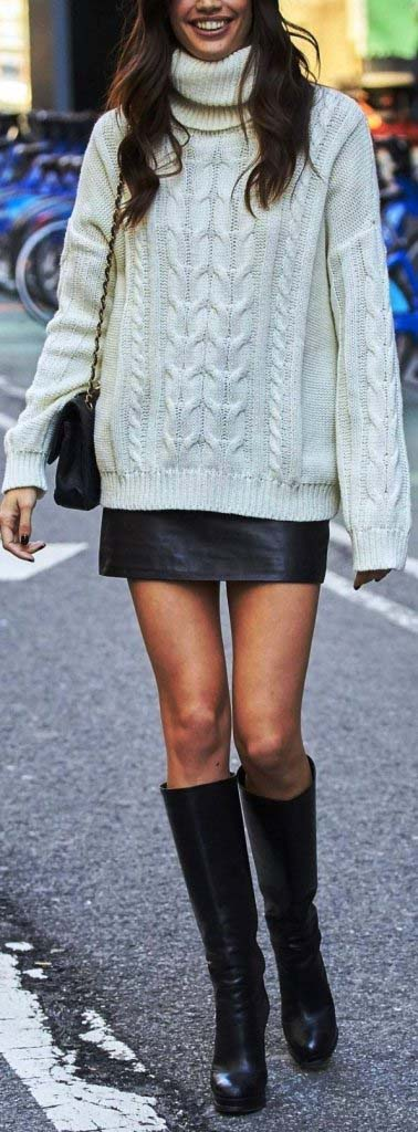 Oversized Cozy up Knit Sweate - girlyrose.com