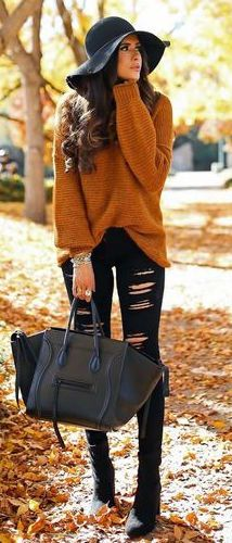 100 Fall Outfits You Should Already Own - girlyrose.com