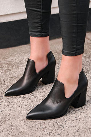 Pointed Toe High Heel Pumps - girlyrose.com
