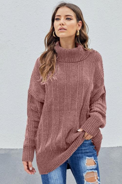 Pink Soft Chenille Sweater - girlyrose.com