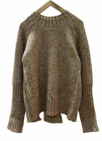 Stay Warm and Chic Ribbed Sweater in Smoky Khaki