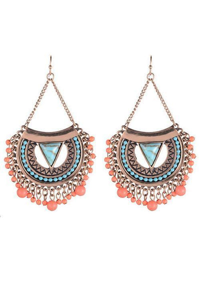 Bohemia Beads Earring - girlyrose.com