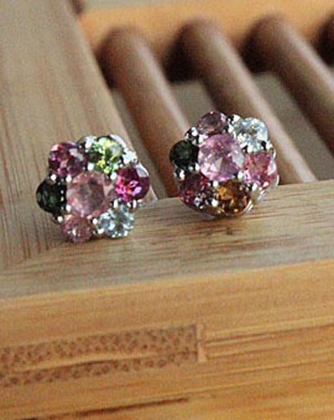 Swarovski Crystal Earrings - girlyrose.com