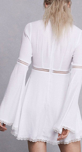 Willow bell sleeve dress - girlyrose.com