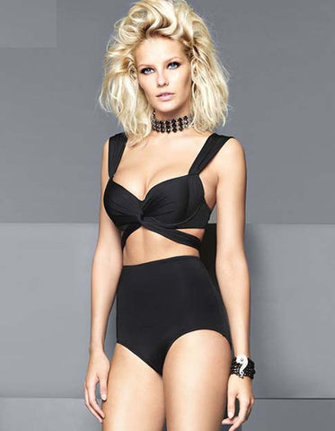 Top High Waist 2 Piece Swimwear