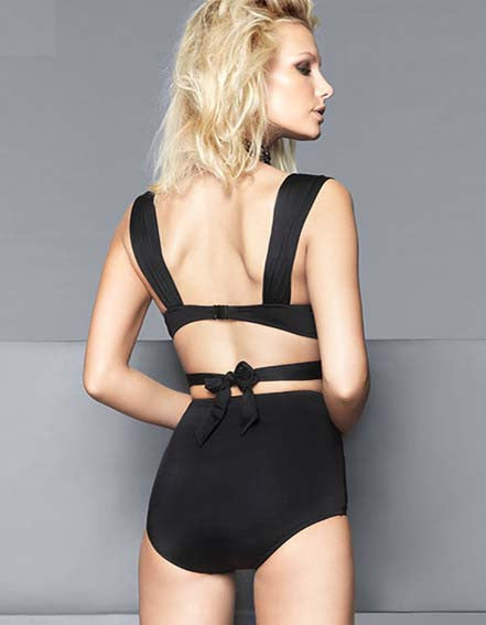 Top High Waist 2 Piece Swimwear - girlyrose.com