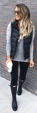 Women's Fashion Cotton Vest /Fashion Outfits/Fall/Spring/Winter - girlyrose.com