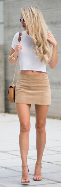 Seude Bodycon Pencil Skirt
