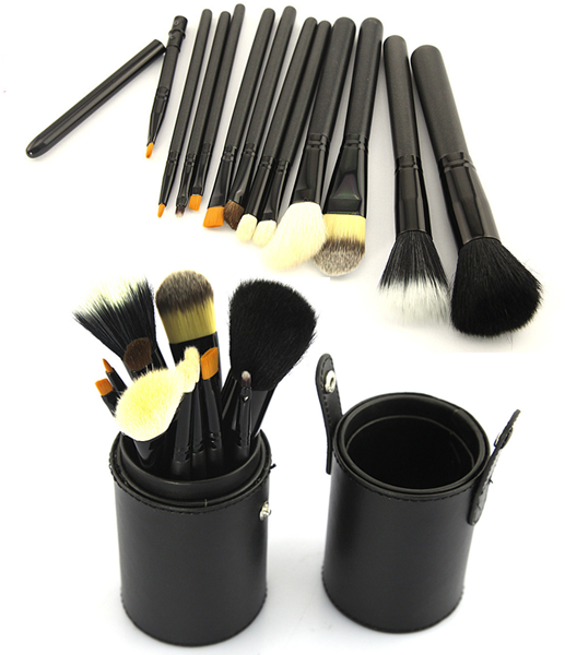 12 Piece Make Up Set in 5 Colors - girlyrose.com