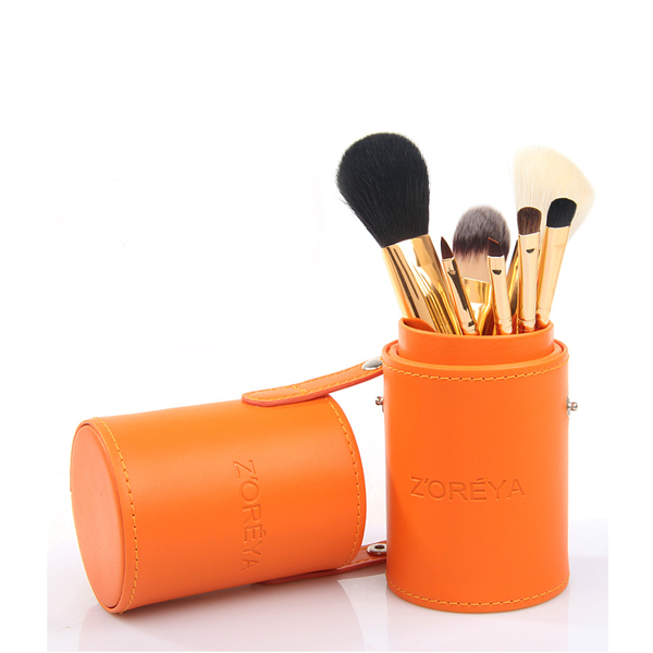 7 Piece Brush Set in Four Color