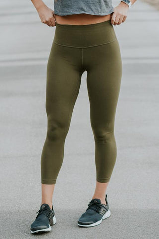 Breathe High Waist Yoga Leggings - girlyrose.com