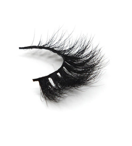 Lilly Miami 3D Full Strip Lashes 100% Real Siberian Mink Strip Eyelashes 3D Mink