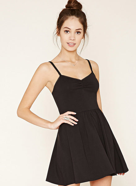 Black Fashion Backless Slim Dress