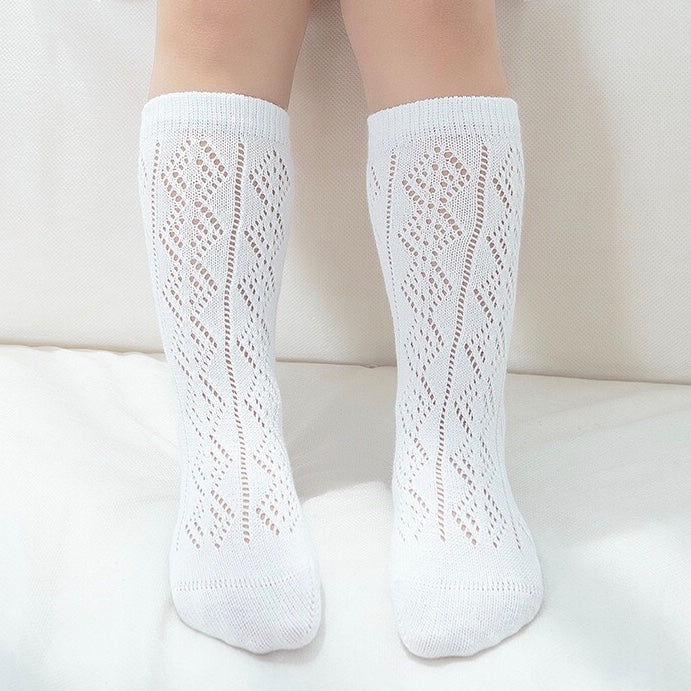Vintage Socks - White