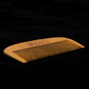 pocket sized beard comb
