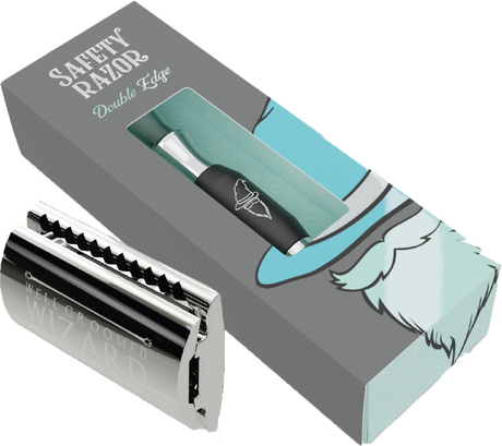 Double Edge Safety Razor | Single Blade | Titanium handle