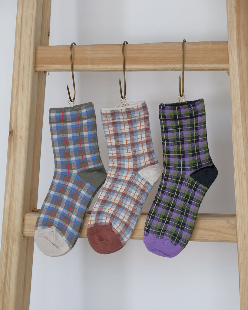 Checker Socks (3 color)