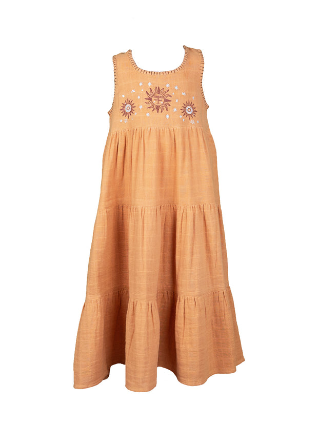 Mishka Maxi Dress - Terracotta