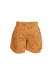 Taj Shorts - Terracotta Constellation