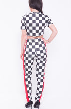 CHELSEA CHECKED STRIPE CO-ORD SET