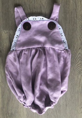 Evie romper purple