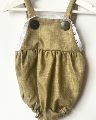 Evie romper olive green