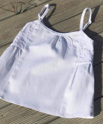 Cotton linen summer top BACK IN STOCK