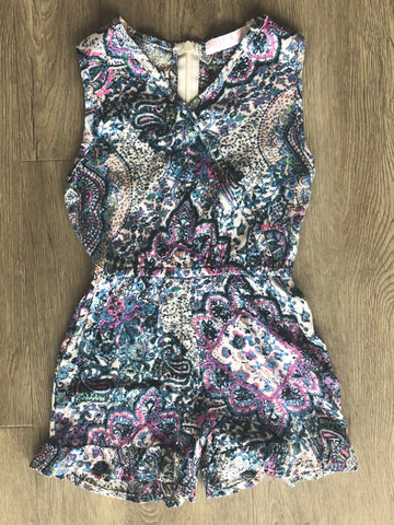 Cali wrap playsuit