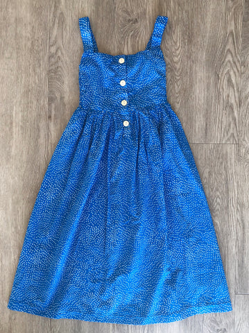 Mia maxi dress blue