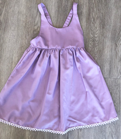 Audrey dress purple