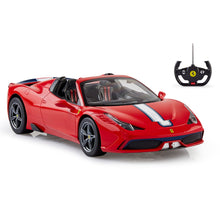 Load image into Gallery viewer, Ferrari Remote Control Car, 1:14 Scale 458 Speciale A