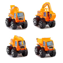 Load image into Gallery viewer, Pull Back Cars - Mini Construction (Set of 4)