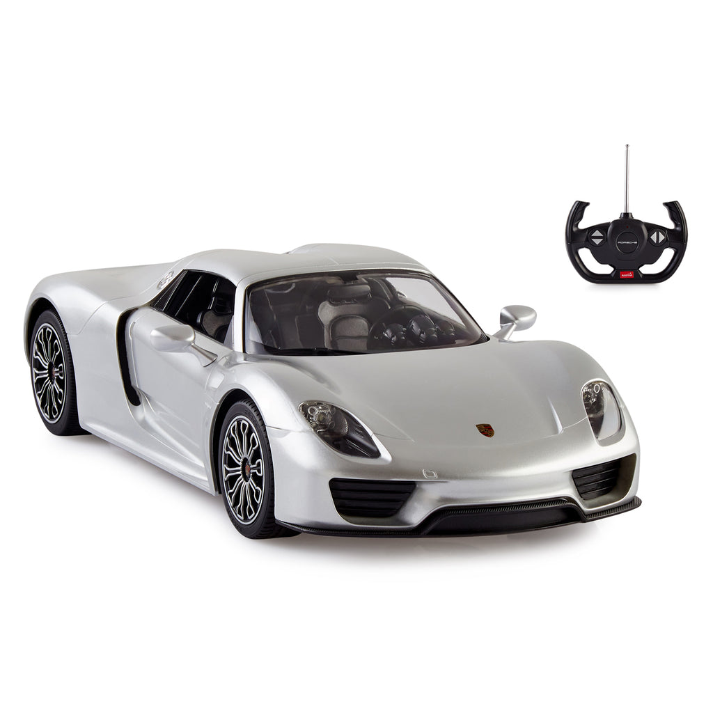 RC Cars Porsche 918 Spyder Remote Car, 1:14 Scale