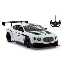 Load image into Gallery viewer, RC Car Racing Bentley Continental GT3, 1:14 Scale