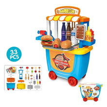 Load image into Gallery viewer, BBQ House 33 Pcs Play Cart