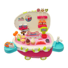 Load image into Gallery viewer, Play Food - Ice Cream Sweet Cart 38 Pcs