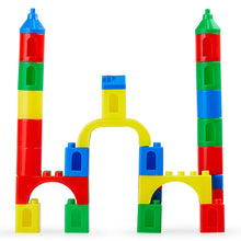 Load image into Gallery viewer, Building Blocks Magic Castle, 56 Pcs Set with Base Plate and Case