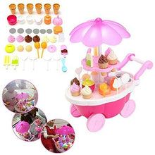 Load image into Gallery viewer, Ice Cream Sweet Cart, 39 Pcs Play Food