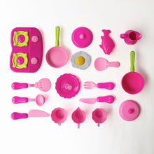 Load image into Gallery viewer, Kitchen Cooking Set 18 Pcs, Pink