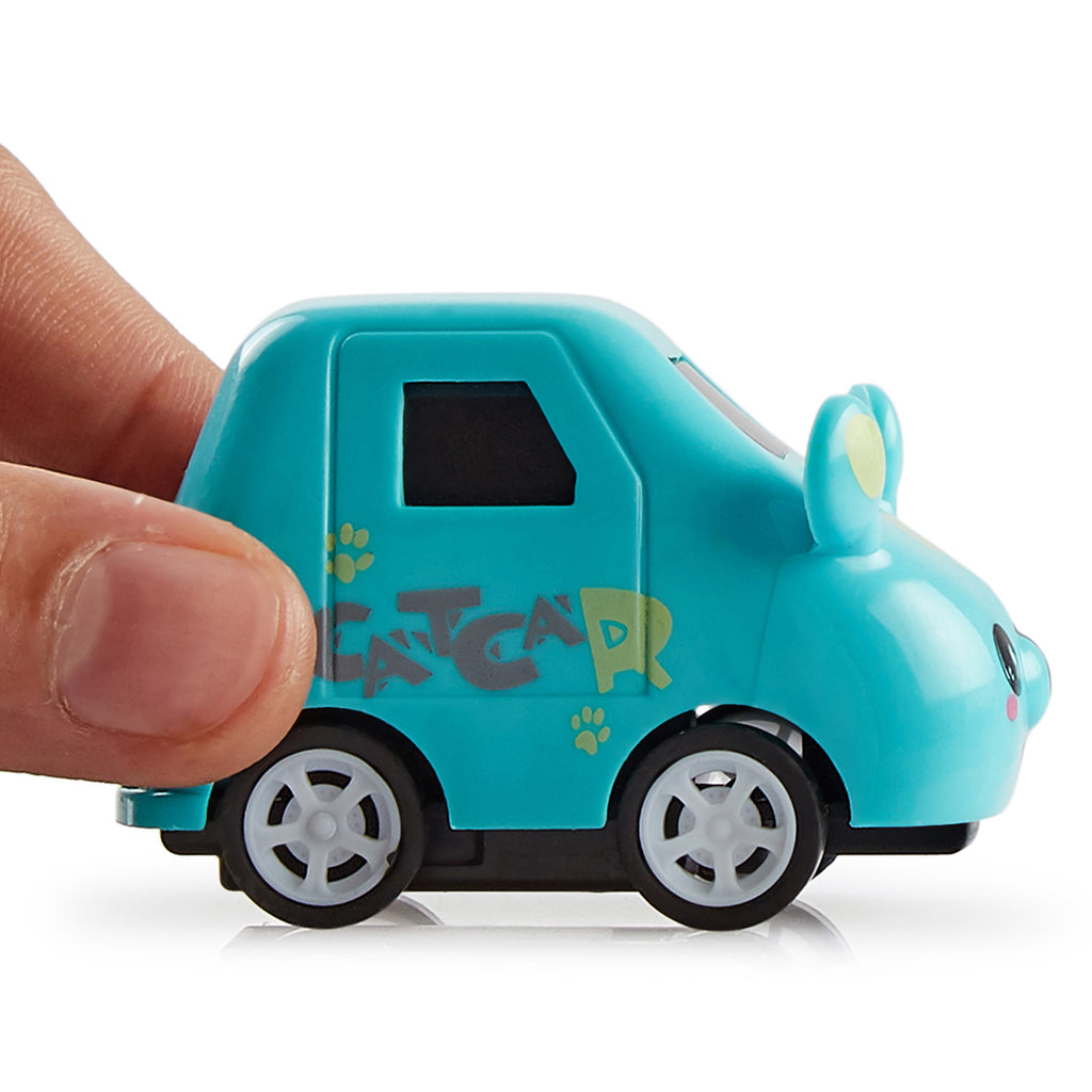 Pull Back Cars - Cute Animal Cartoon, Unbreakable (Set of 4)