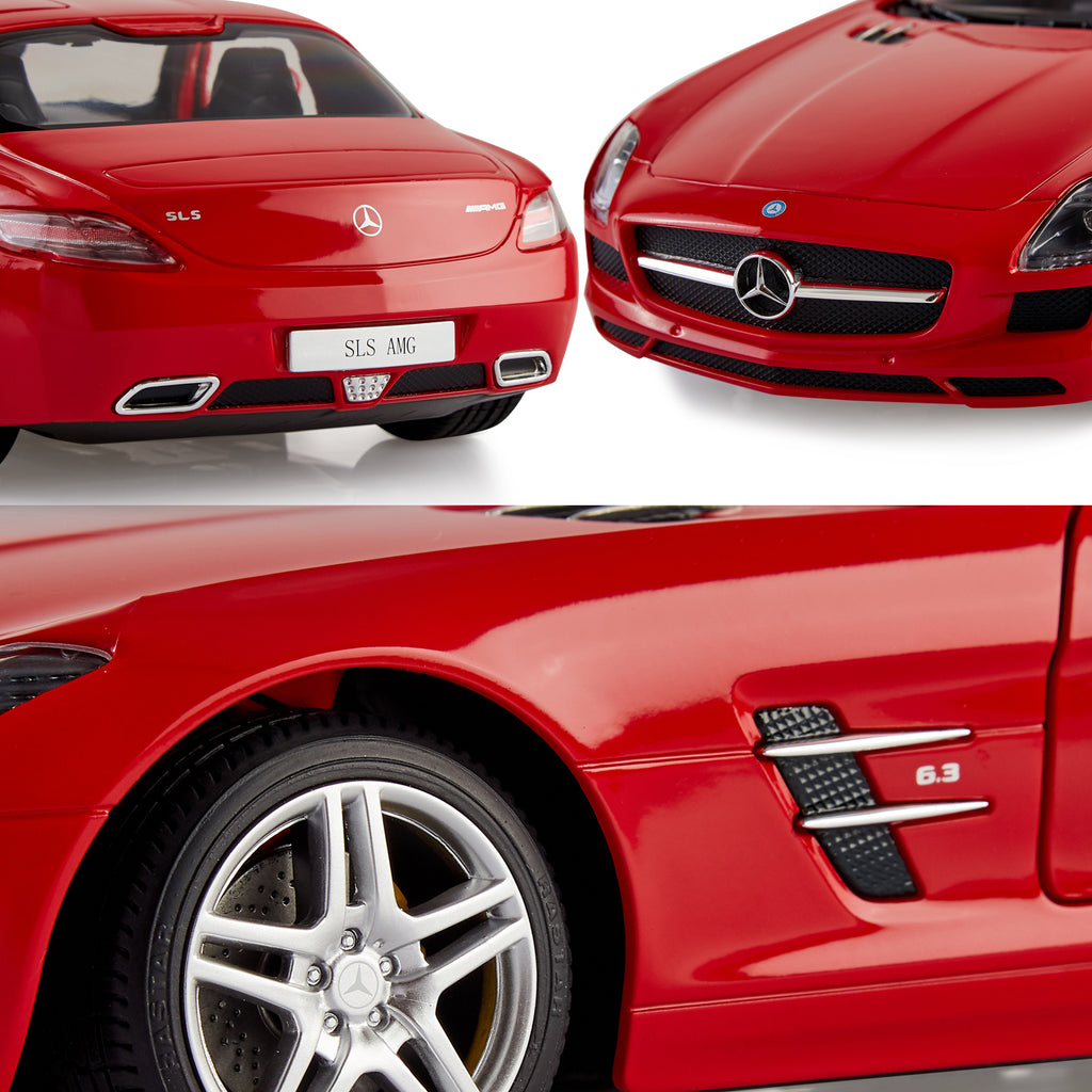 Mercedes Benz Toy Car, Remote Controlled SLS AMG, 1:14 Scale