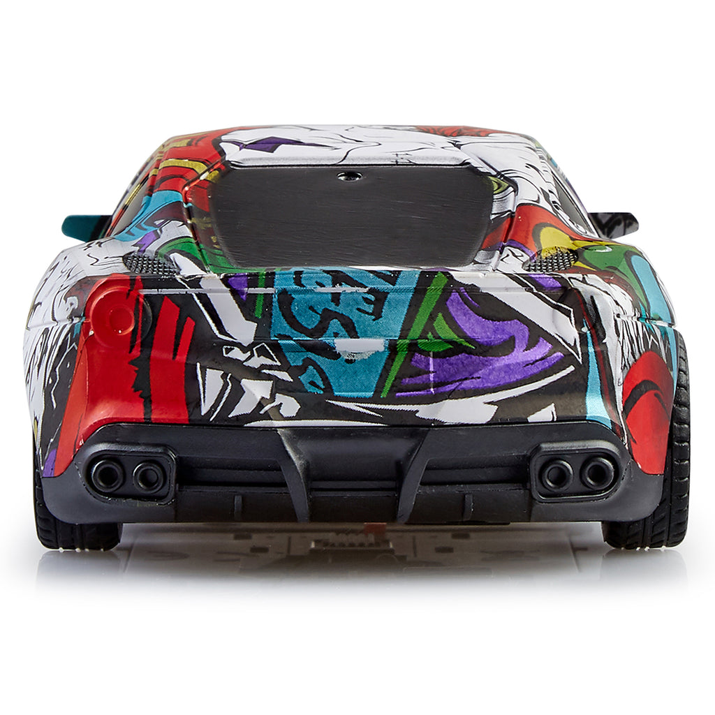 Remote Control Car Graffiti Series, 1:20 Scale Model - Design 2