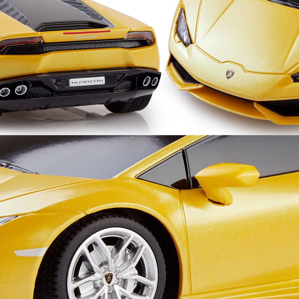 Lamborghini Huracan LP610-4 Remote Control Car, Officially Licensed 1:24 Scale Rastar Model