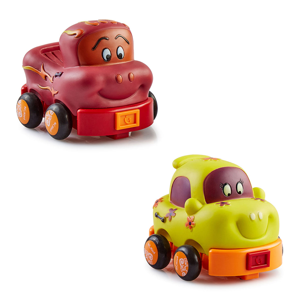 Pull Back Cars - Mini Garage (Set of 2)