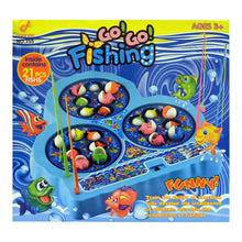 Load image into Gallery viewer, Electronic Spinning Fishing Game for Kids, Fish Catching Toy
