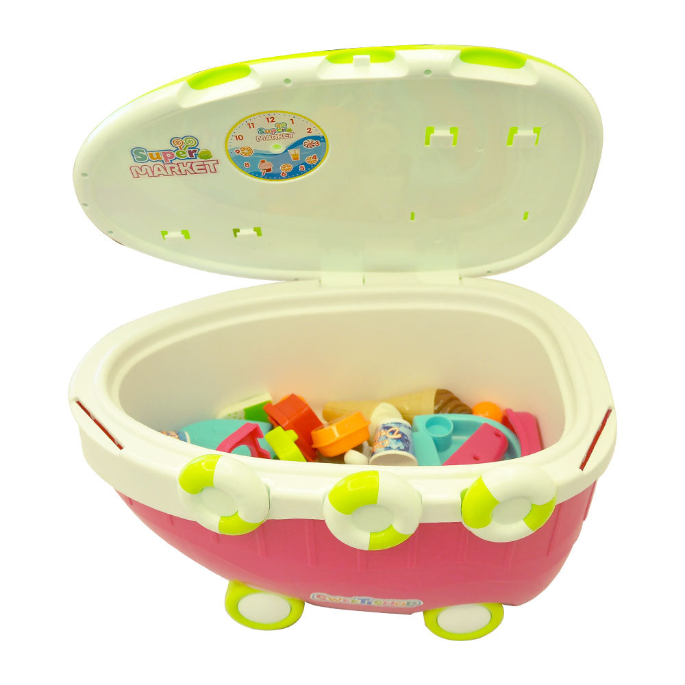 Play Food - Ice Cream Sweet Cart 38 Pcs