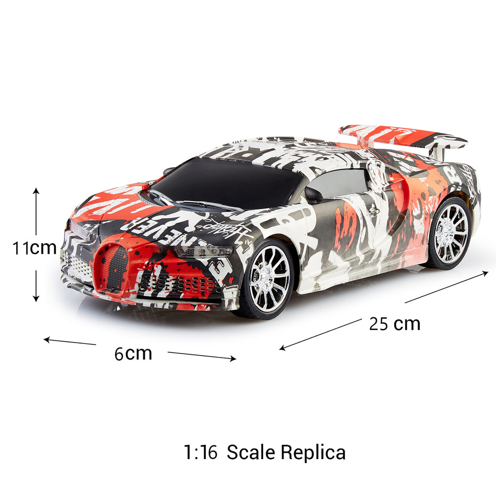Remote Control Car Graffiti Series, 1:16 Scale Model