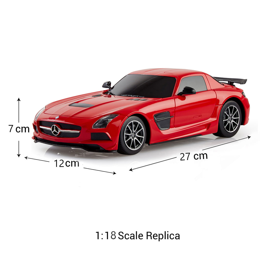 Remote Control Mercedes Benz SLS AMG, Officially Licensed 1:18 Scale Rastar Model