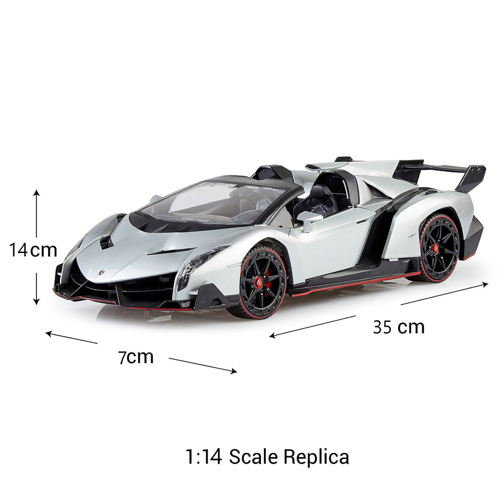 Remote Control Lamborghini Veneno, Officially Licensed 1:14 Scale Model